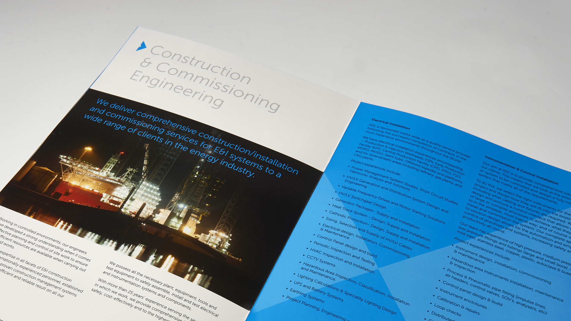 Website and Brochure   Tide Design