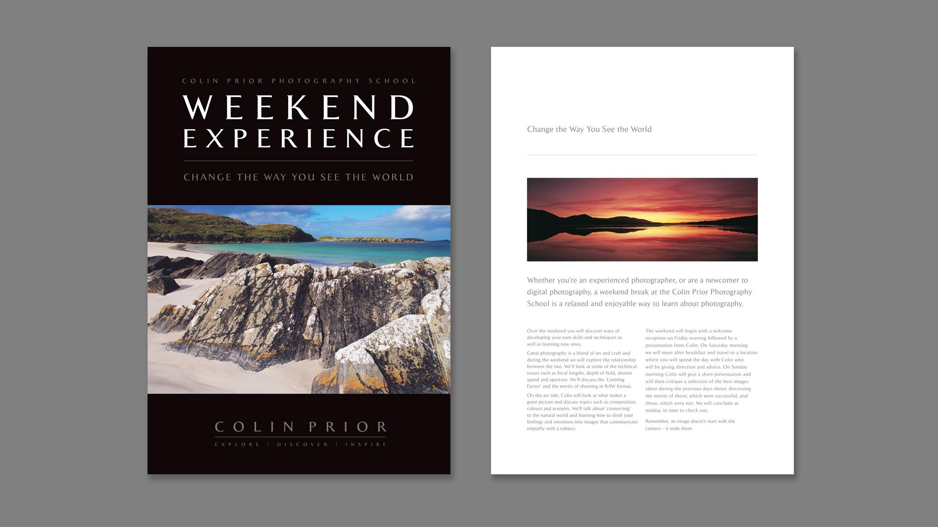 Promotional marketing materials | Tide Design